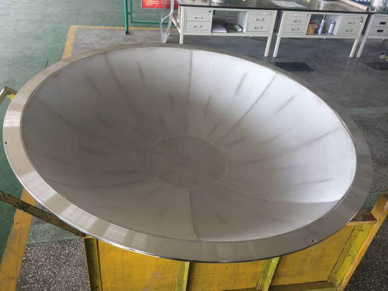 Sinter Stainless Steel Filter Element In Cone Shape