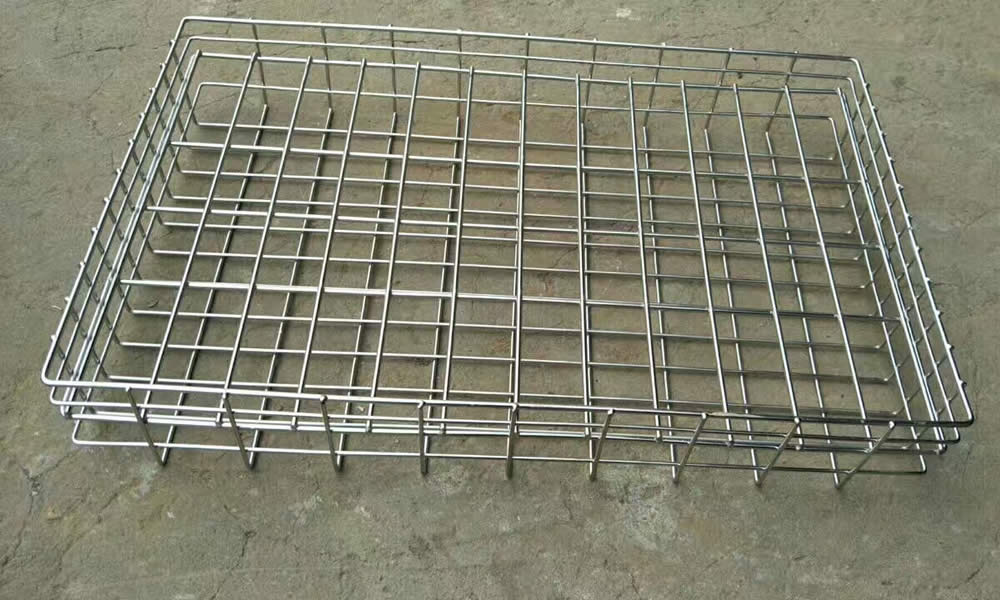Metal Wire Welded Basket