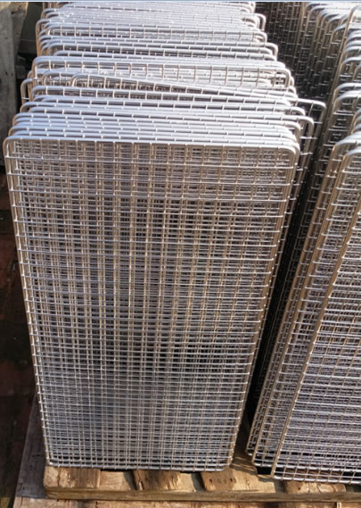 Polished Welded Wire Panels